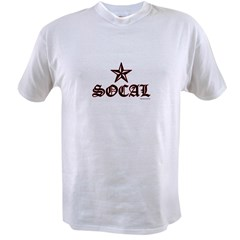socalbwred.psd Value T-shirt