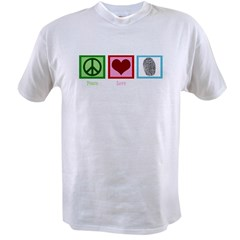 Peace Love CSI: Miami Value T-shirt