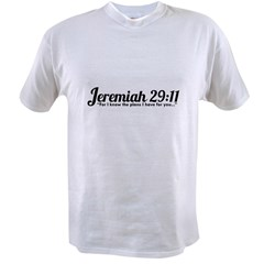 Jeremiah 29:11 (Design 4) Value T-shirt