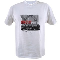 Uncut Sports City (Red Logo) Value T-shirt