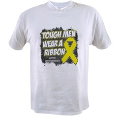 Sarcoma ToughMenWearRibbon Value T-shirt