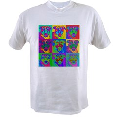 Op Art Pitbul Value T-shirt