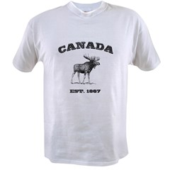 Canadian Moose Value T-shirt