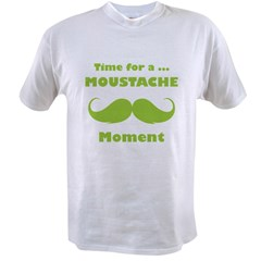 Moustache moment Value T-shirt