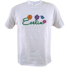 Evelin Flowers Value T-shirt