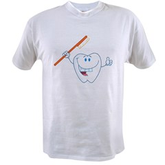Funny Dentist Dental Hygienis Value T-shirt