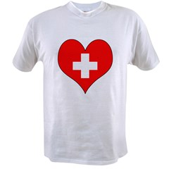 Switzerland Hear Value T-shirt