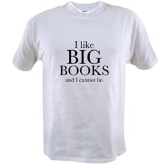 I LIke Big Books Value T-shirt