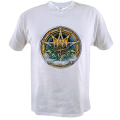 Imbolc Pentacle Value T-shirt