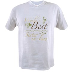 Vintage Best Sister-In-Law Value T-shirt