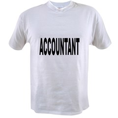 Accountant Value T-shirt