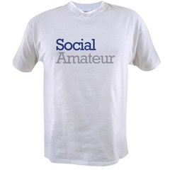 Social Amateur Pride Value T-shirt