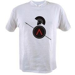 Greek Warrior 4 Value T-shirt