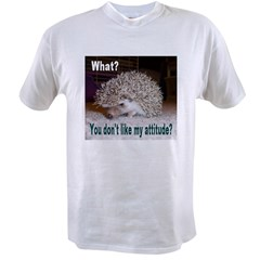 My Attitude Hedgehog Ash Grey Value T-shirt