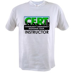 CERT Instructor Value T-shirt