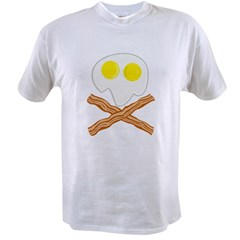 Breakfast Pirate Value T-shirt