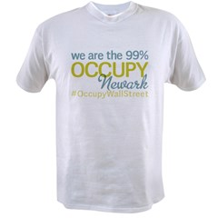 Occupy Newark Value T-shirt