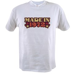 Made in 1972 Value T-shirt