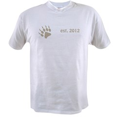 papa bear claw 2012_dark Value T-shirt