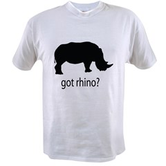 Got rhino? Value T-shirt