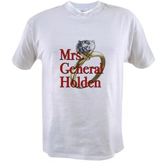 Mrs. General Holden Army Wives Value T-shirt