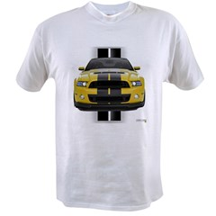 New Mustang GT Yellow Value T-shirt