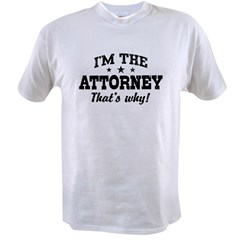 Attorney Value T-shirt