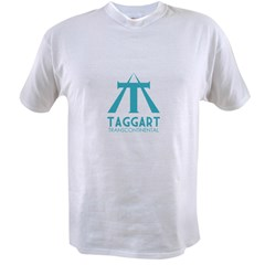 Taggart Transcontinental Blue Value T-shirt