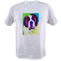 Saint Bernard #1 Ash Grey Value T-shirt