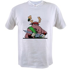 Combat Moose Value T-shirt