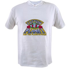 Captain Planet Logo Value T-shirt