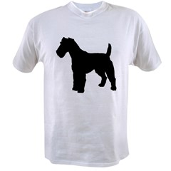 Fox Terrier Silhouette Value T-shirt