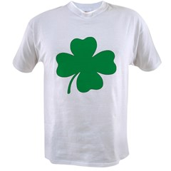 St. Patrick's Day Shamrock Ash Grey Value T-shirt