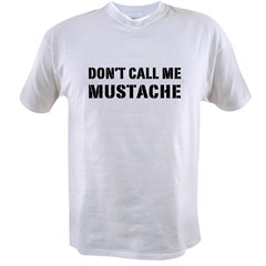 MUSTACHE Value T-shirt
