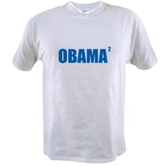 Obama Squared Value T-shirt