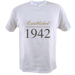 Established 1942 Value T-shirt