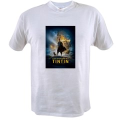 Tintin Movie Value T-shirt