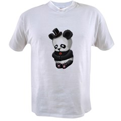 Sad Panda Value T-shirt