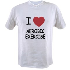 I heart aerobic exercise Value T-shirt