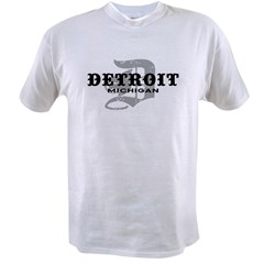 Detroit Michigan Value T-shirt