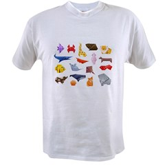 Origami Animals Value T-shirt