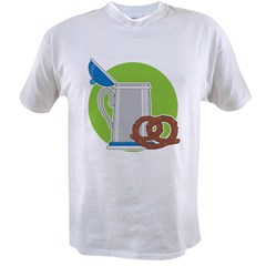Beer and Pretzel Value T-shirt