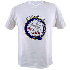 Lockhart Clan Badge.jpg Value T-shirt