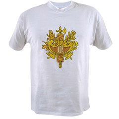 coat of arms of France Value T-shirt