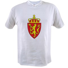 Norway Coat Of Arms Value T-shirt