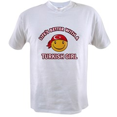 Cute turkish girl designs Value T-shirt