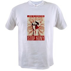STOP KONY Value T-shirt