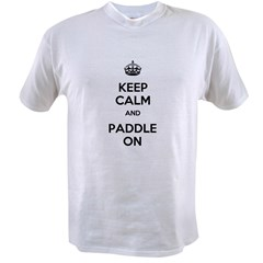 Keep Calm and Paddle On Value T-shirt