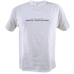 ziptietechnician.jpg Value T-shirt