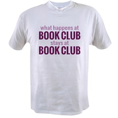 What Happens at Book Club Value T-shirt